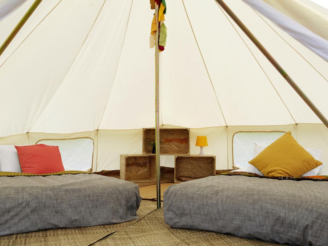 wonderfruit festival палатка