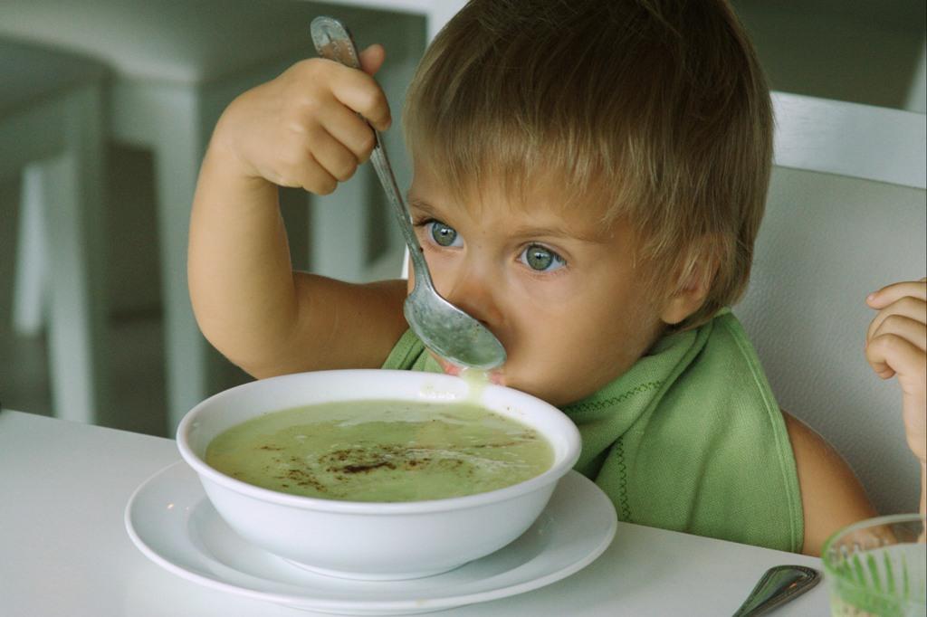 сырой суп из авокадо
