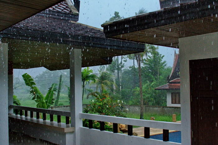 rainy season on koh samui